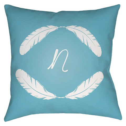 Target Decorative Pillows Blue : Decorative Pillow Surya Blue - Set 1 : Target
