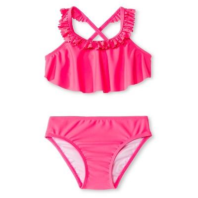 Baby Girls' Tankini Set Pink 9M