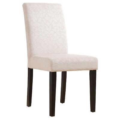 Upton Parsons Chair Wood/Beige (Set of 2) - Linon Home Decor