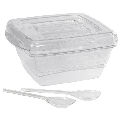 CreativeWare Cool-Ware 6-pc. Serving Set - Clear