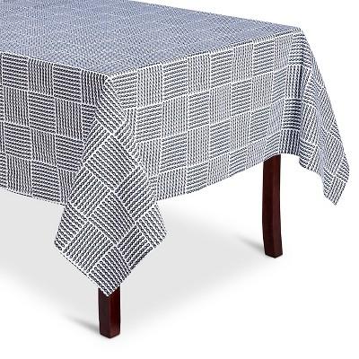 "Threshold™ Rope Print Tablecloth - Navy/White (52x70"")"