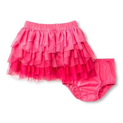 Tutu Skirts Genuine Kids Pink Taffy 12  MONTHS