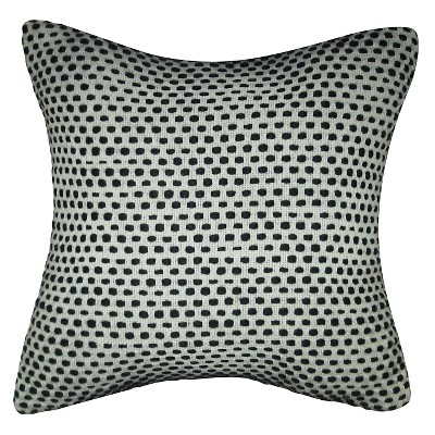 Decorative Pillow Threshold Urban Black Multi-colored White