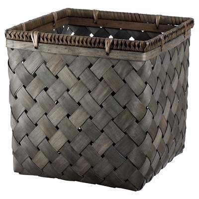 Greywash Poplar Basket - Smith & Hawken™