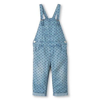 Female Overalls Genuine Kids Blue 12  MONTHS