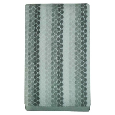 Diamond Bath Towel Gray - Pillowfort™