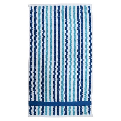 Cool Striped Hand Towel Blue - Pillowfort™