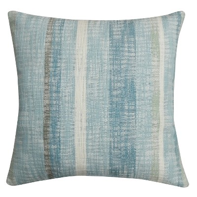 Threshold™ Square Space Dyed Slub Stripes Pillow