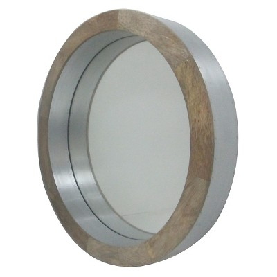 Decorative Wall Mirror Threshold Tan