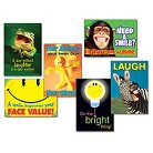 """TREND """"Attitude & Smiles"""" ARGUS Poster Combo Pack, 6 Posters/Pack"""