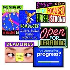 """TREND """"Motivation"""" ARGUS Poster Combo Pack, 6 Posters/Pack"""