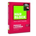 H&R Block® Premium & Business Tax Software