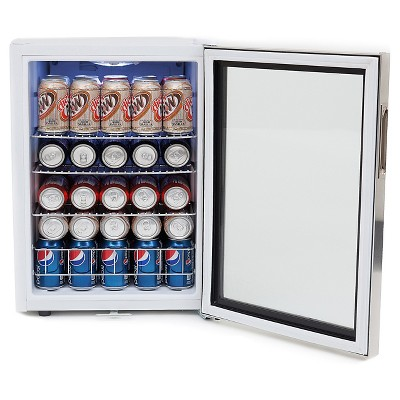 Whynter 90 Can  Beverage Refrigerator - Stainless Steel BR-091WS