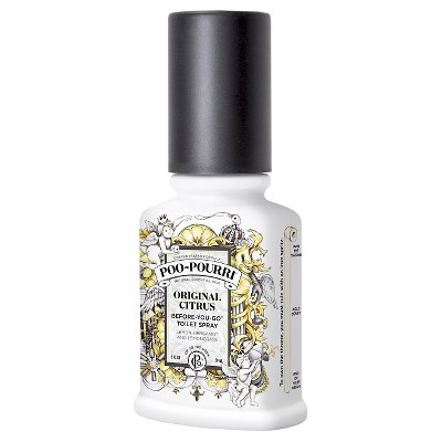PooPourri Original Citrus Before-you-Go Toilet Spray - 2.0 fl oz