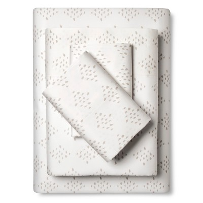 Sheet Set Diamond (California King) Ivory - Nate Berkus™
