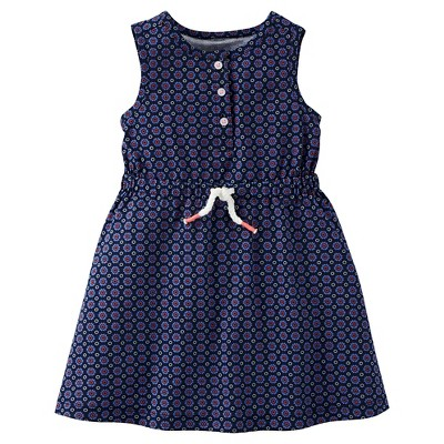 Just One Made Carter Toddler Girls Navy Geo