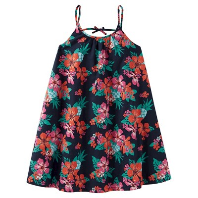 Just One Made Carter Toddler Girls Navy Floral