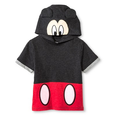 Toddler Boys' Mickey Mouse Tee Shirt - Black 3T