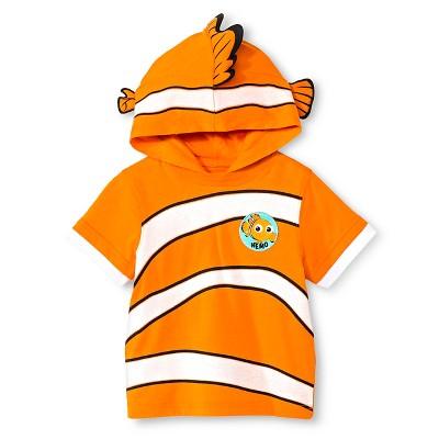 Toddler Boys' Finding Nemo T-Shirt - Orange 18M