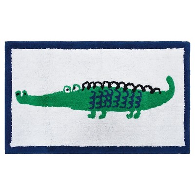 Alligator Bath Rug Multicolored - Pillowfort™