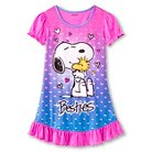Peanuts Girls' Snoopy Nightgown - Pink