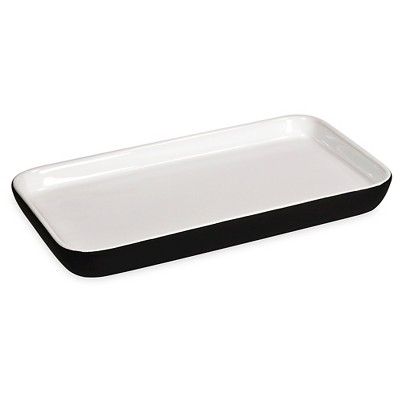 Room Essentials™ Soft Ceramic Tray - Black