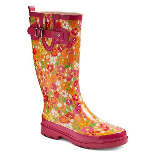 Western Chief® Women 039 s Floral Fun Rain Boots | eBay
