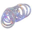 18' Mesh Rope Garl 72LED Lights - Multicolored