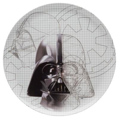 Star Wars Darth Vader Sketch 10in Dinner Plate