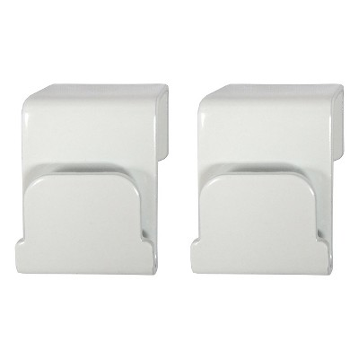 Threshold™ Storage Ladder Basket Hooks - White