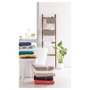 Threshold Canvas Storage Ladder Basket Grey Tar