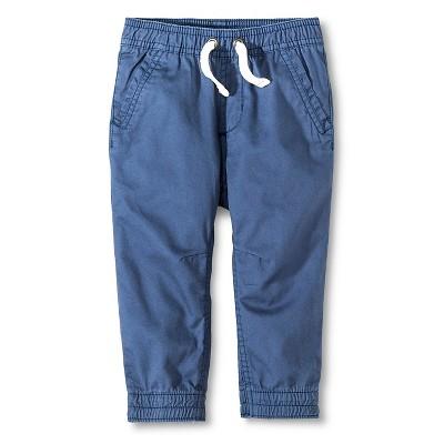 Baby Boys' Jogger Pant - Metallic Blue 18M - Cherokee®