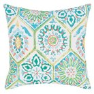 Jaipur Veranda Od Summer Breeze Blue/Green Decorative Pillow