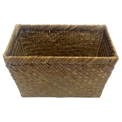 Threshold™ Medium Woven Storage Ladder Basket - Honey Brown