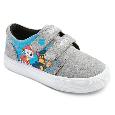 toddler boys paw patrol canvas sneakers grey target