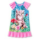 Girls' Kitten Nightgown - Pink