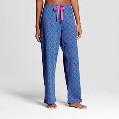 BHPJ by Bedhead Pajamas Women's Sleep Pajama Pant - Jewel Tone Teal Geo Prism
