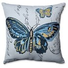 """Pillow Perfect Butterfly Jacquard Throw Pillow - Off-White (16.5"""")"""