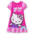 Hello Kitty Toddler Girls' Nightgown - Pink