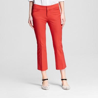 Women's Kick Flare Ankle Pant Orange Spark 2 - Merona™