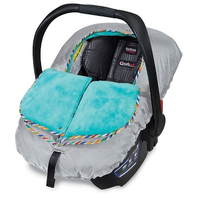 Britax B-Warm Infant Car Seat Cover, Arctic Splash
