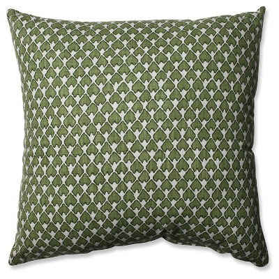 "Pillow Perfect Diego Throw Pillow - Green (18"")"