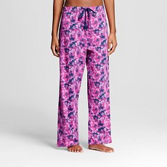 BHPJ by Bedhead Pajamas Women's Sleep Pajama Pant - Purple Pop Petunia
