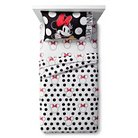 Minnie Mouse® Rock the Dots Sheet Set - Twin - 3 pc - Multicolor