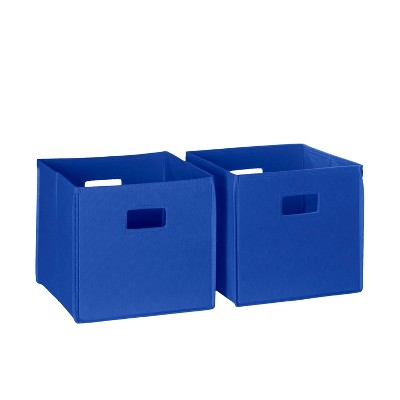 RiverRidge® Folding Storage 2 Pc Bin Set - Blue