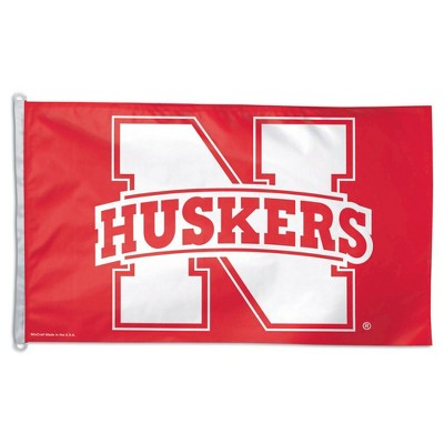 NCAA Nebraska Cornhuskers Flag