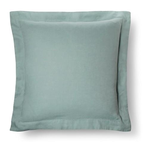 Fieldcrest Luxury Decorative Pillows : Linen Pillow Sham Euro - Fieldcrest Luxury : Target