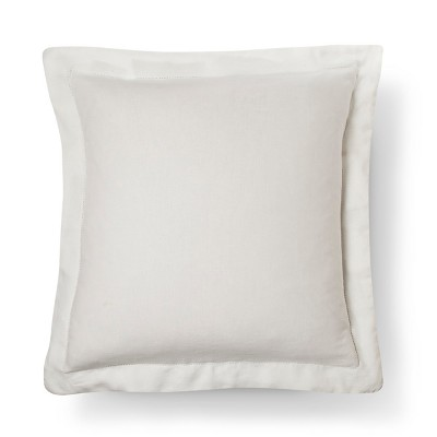 Linen Pillow Sham Euro - Cream - Fieldcrest™