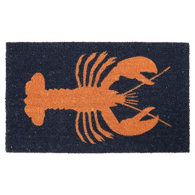 "Threshold™ Coastal Lobster Doormat - Black (18""x30"")"