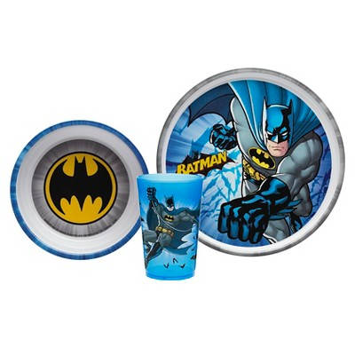 Batman 3-pc. Feeding Set